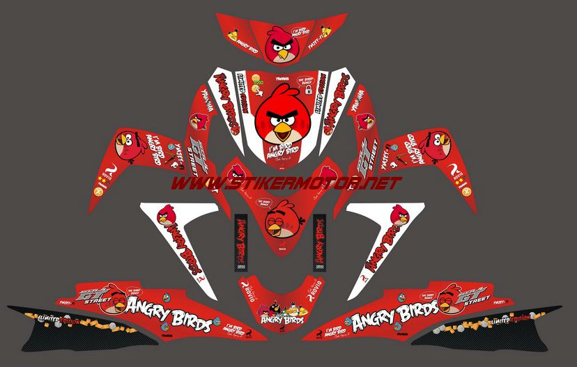 striping motor soul gt angry bird