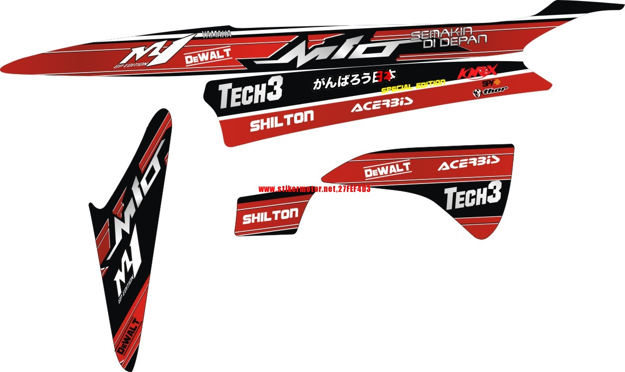 mio tech3 RED 1