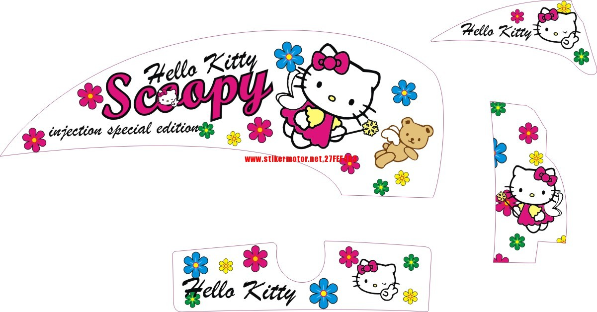 honda scoopy hello kitty 1