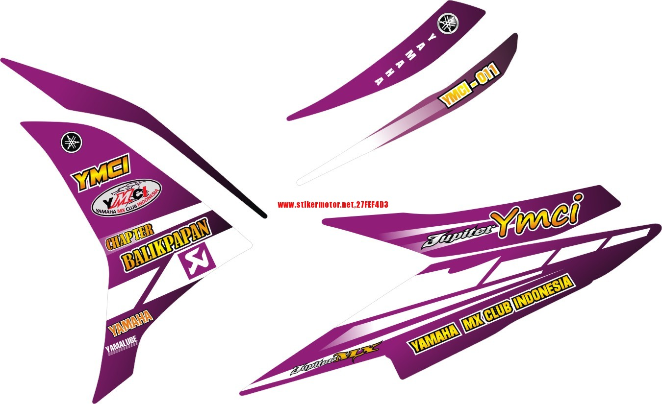 STRIPING MOTOR YAMAHA NEW MX YMCI BALIKAPAPAN 3