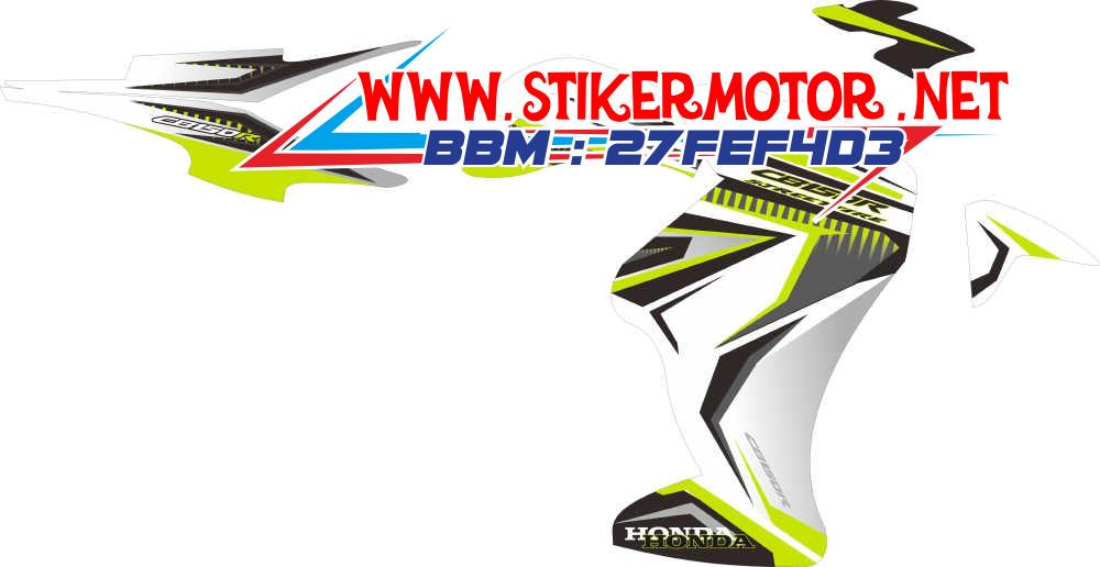 striping motor CB 150R modif