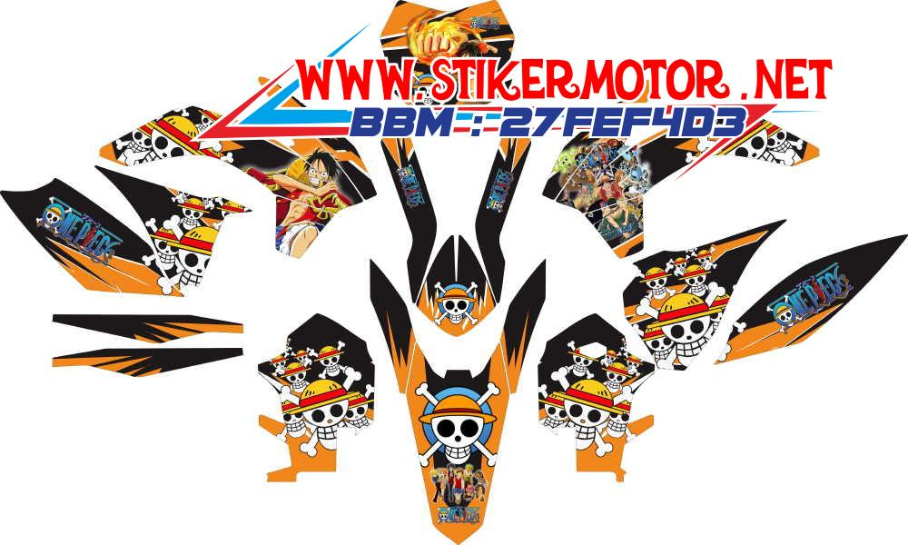 striping motor KTM 250cc 2015 one piece