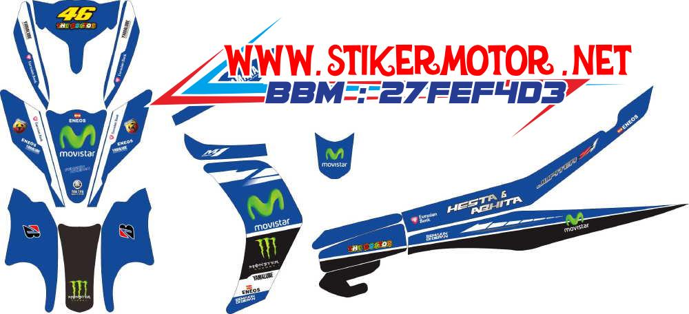 striping motor new jupiter z movistar