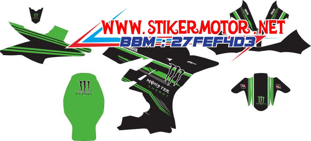 striping motor R15 monster energy