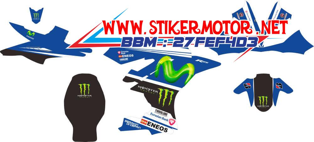 striping motor R15 movistar