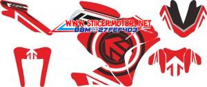 striping motor R25 arrow-andre-onion red