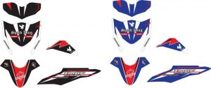 striping motor honda BEAT fi racing speed king