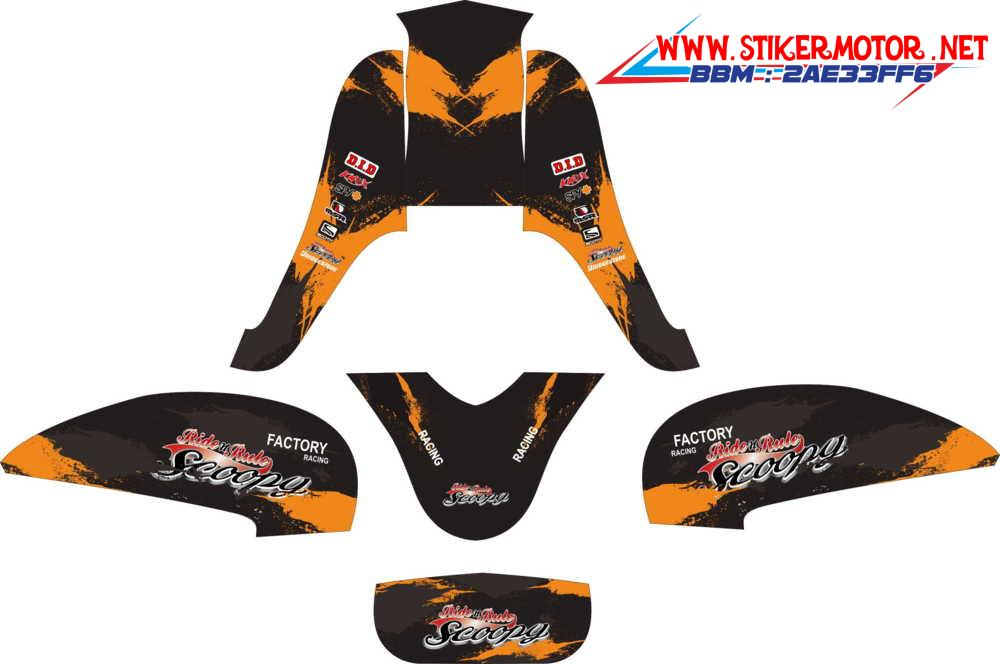 SCOOPY FI factory racing