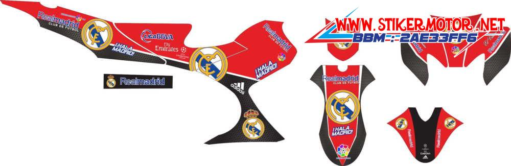 Satria fu real madrid red