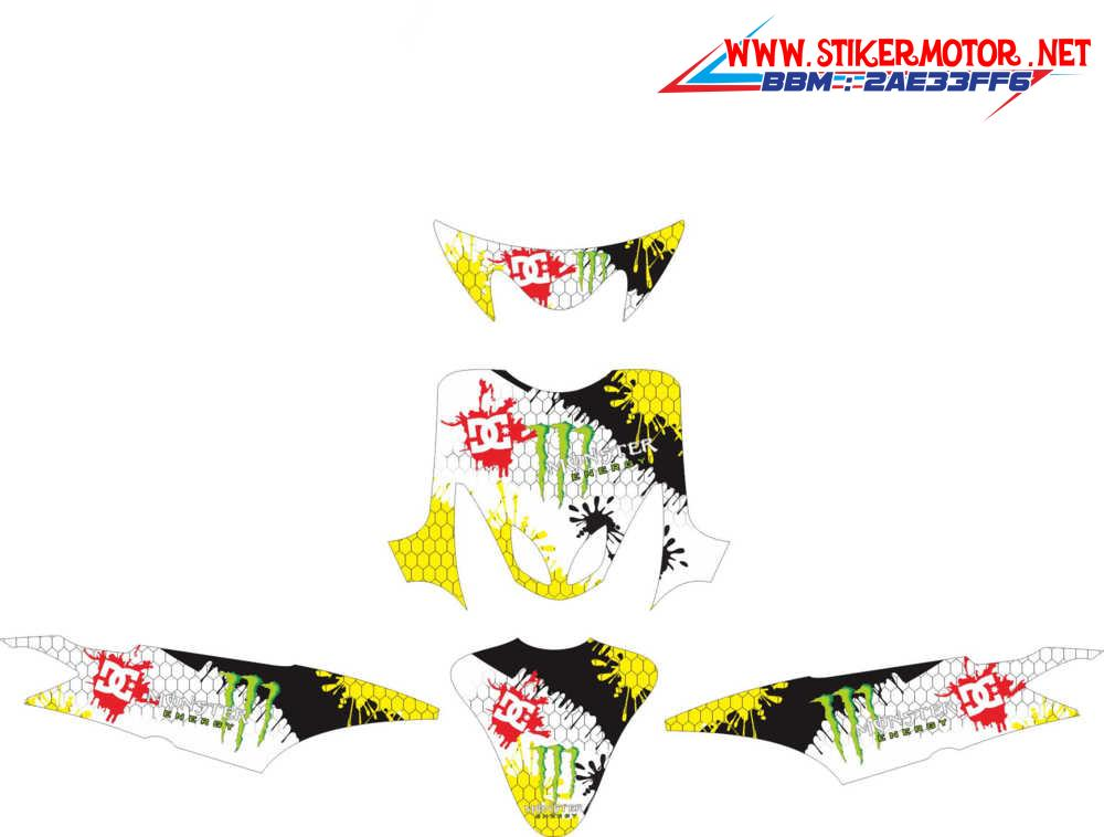 mio sporty monster energy dc kuning