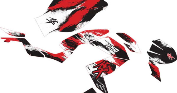 STICKER STRIPING DECAL MOTOR Z250 hayabusa v2