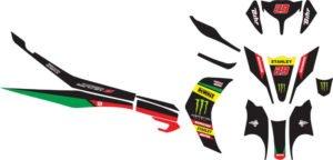 Stiker new jupiter z tech 3 motogp