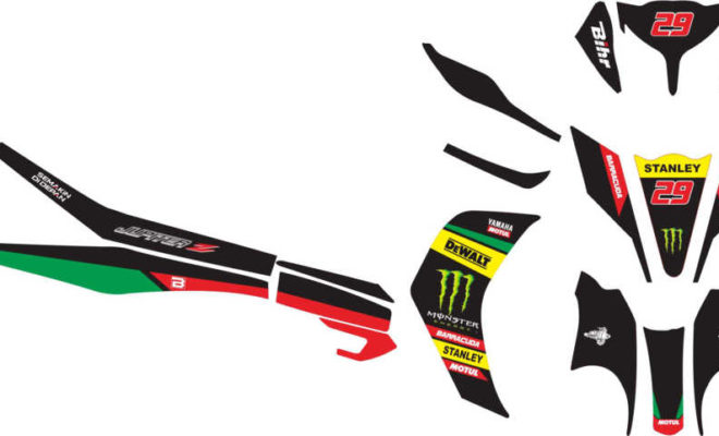 Stiker new jupiter z tech 3 motogp