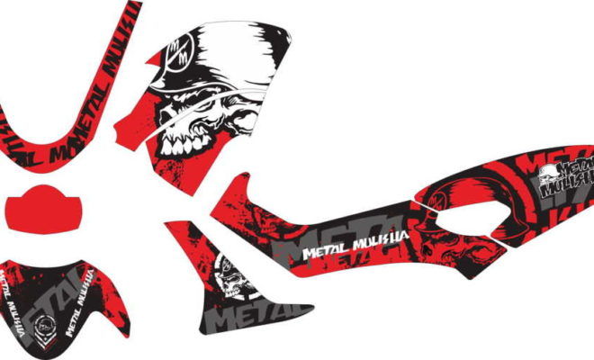 Stiker nmax metal mulisha