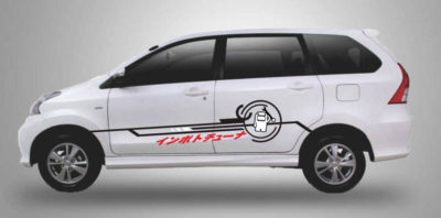Stiker xenia cutting sticker