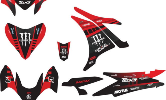 Stiker NEW jupiter MX tech 3