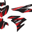 Stiker mx king racing