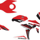 Stiker new CBR150R FACELIT simple decal