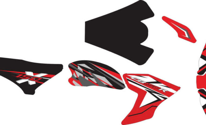 Stiker new cb 150R decal 3
