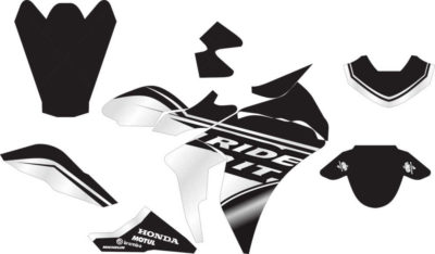 Stiker CBR 150r thailand ride it
