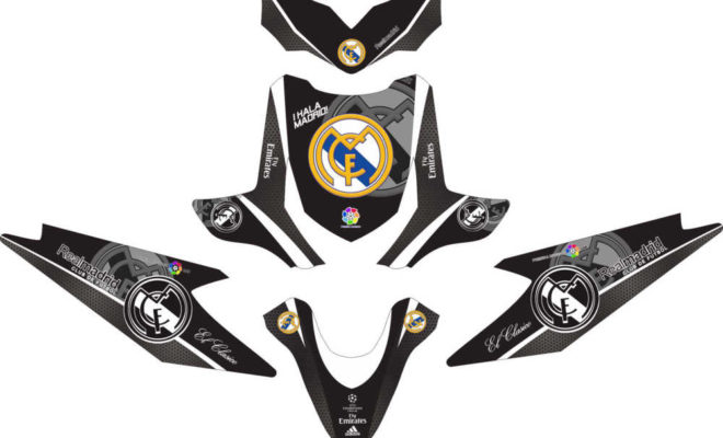 Stiker beat real madrid black