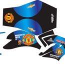 Stiker cb 150 manchester united blue