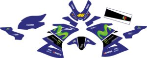 Stiker all new r15 v3 movistar