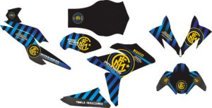 Stiker all new HONDA CBR150R FACELIT inter milan