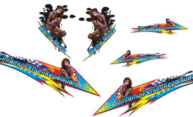 Stiker all new beat esp thailook