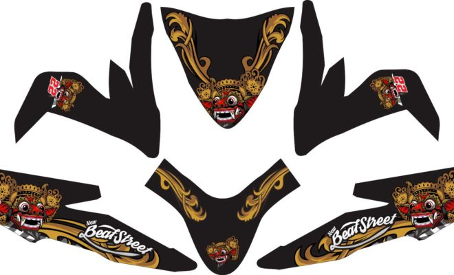 Stiker all new beat street esp barong