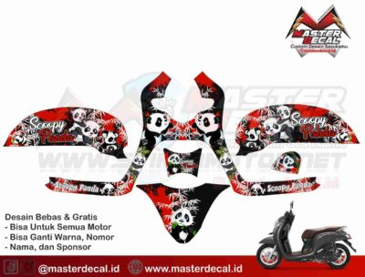 all new scoopy panda