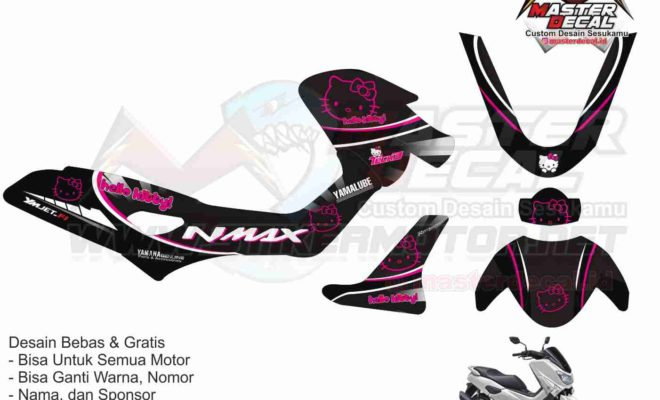 nmax hello kitty black