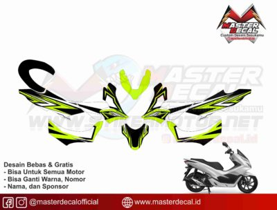 all new pcx 150 line green