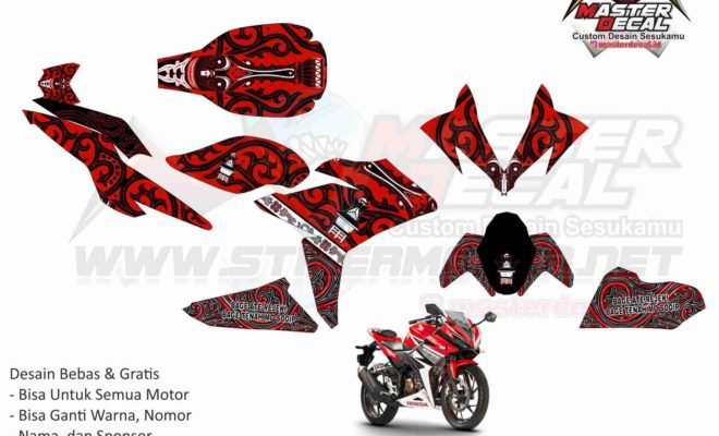 new CBR 150R FACELIT batik batak