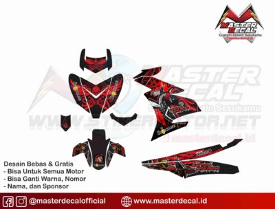 mx king spartan red