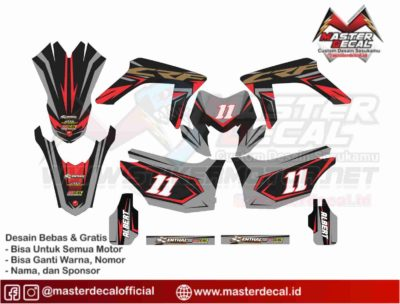 crf 150 L GRAFIS RED GREY