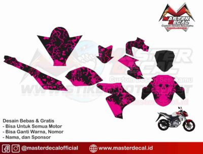 NEW ViXION lightning simple pink