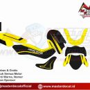 NMAX 2020 grafis yellow