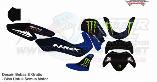 NMAX 2020 monster energy