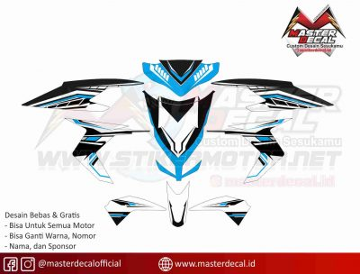 VARIO techno grafis blue