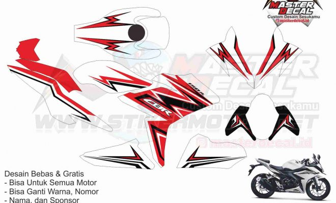 all new CBR150R FACELIT grafis v1