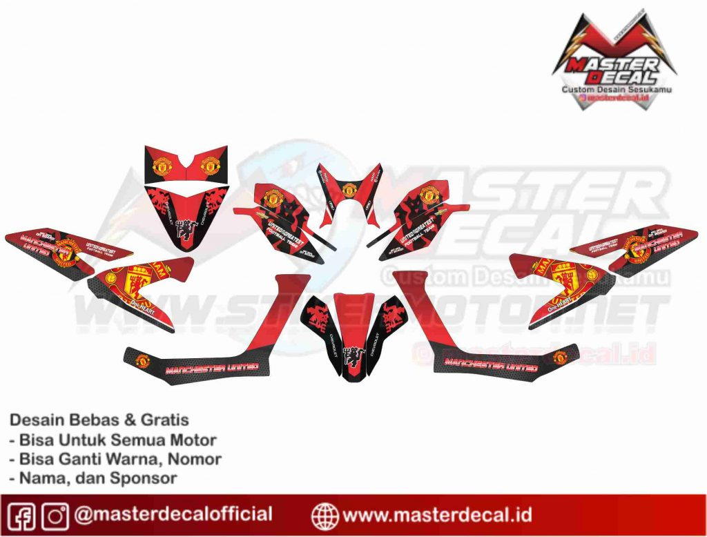 new x ride 125 MANCHESTER UNITED