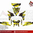 vario fi 125 fox yellow