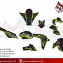 NEW ViXION advance hi tech green sharingan