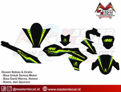 New Vixion SIMPLE DECAL 46