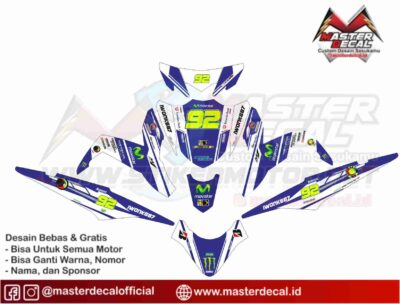 XEON GT 125 movistar blue nm