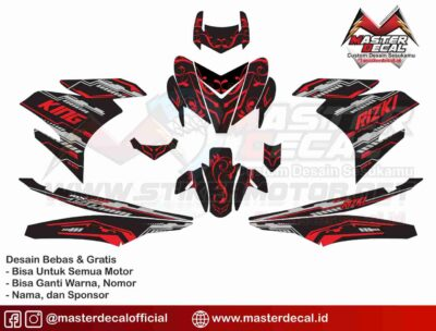 YAMAHA MX KING hi tech batik req