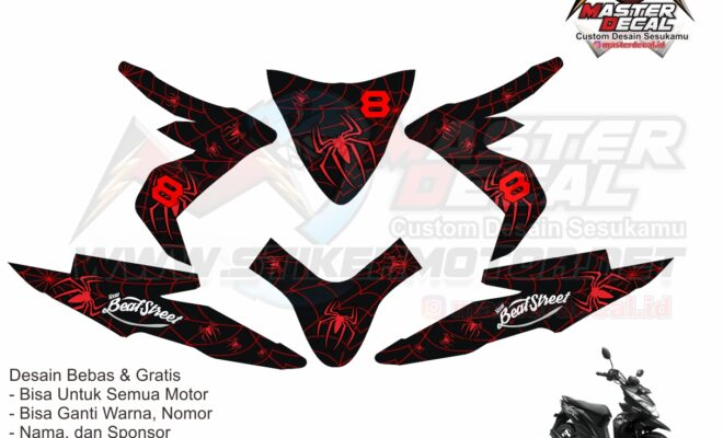 all new beat street esp spider web red