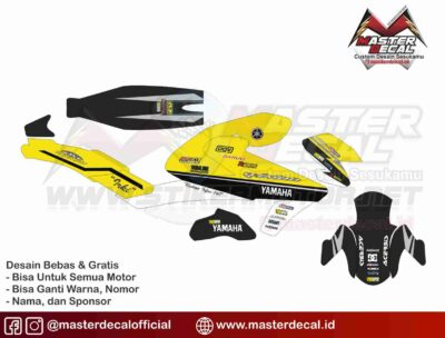 All New Vixion decal nm yellow